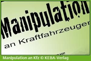Manipulation an Kraftfahrzeugen